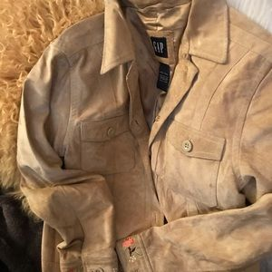 Gap Suede Vintage Jacket
